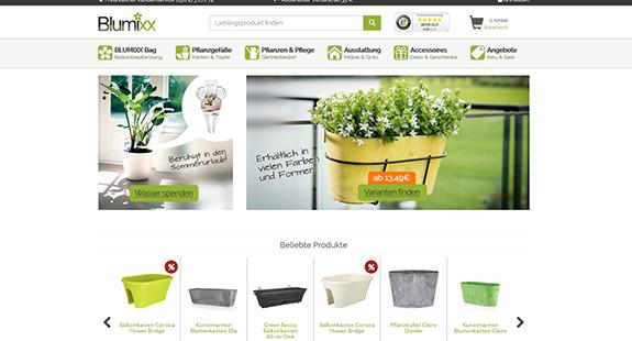 Blumixx Onlineshop